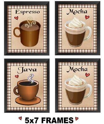 Java Shop Mug Cappucino Espresso Latte Vinyl Wall Decal Coffee House Art #3