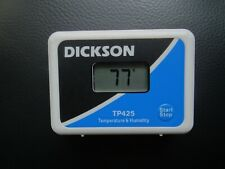 Dickson Tp425 Temperature And Humidity Data Logger With Calibration Certs
