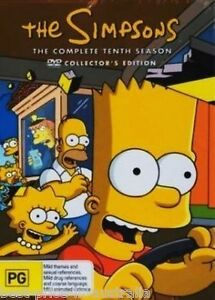 The-SIMPSONS-The-COMPLETE-Season-10-DVD-TV-SERIES-BRAND-NEW-4-DISCS-BOX-SET-R4