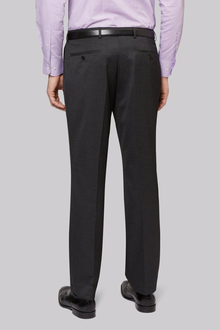Moss Esq Regular Fit  Charcoal Notch Suit Trousers Größe 36 R rrp  LS170 DD 07