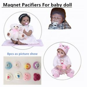 ONE *1* NUK Magnetic Pacifier of Ur Choice for Reborn Baby Doll Boy or Girl