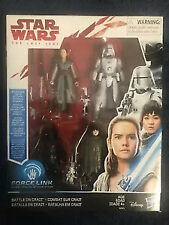 Star Wars New Sealed The Last Jedi Battle on Crait Force Link Figure Set