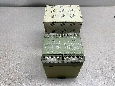 474384 110VAC 9VA 50-60HZ NR PILZ P2HZ 5 2S//2O SAFETY RELAY IDENT