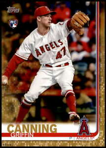 Griffin Canning 2019 Topps Update 5x7 Gold #US200 RC /10 Angels