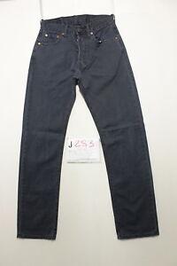 Levi-039-s-551-blu-Boyfriend-jeans-usato-Cod-J283-Tg-42-W28-L32-vintage