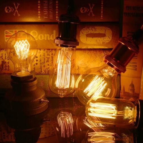LED Spiral Dimmable Bulb Filament Edison Light 220V 4W 40W Lamp Retro Vintage
