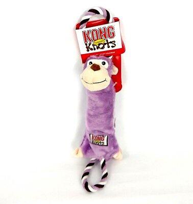 2019 Nieuwste Ontwerp Kong Tugger Knots Medium / Large Squeak Tug Play Dog Puppy Toy Monkey Animal M L