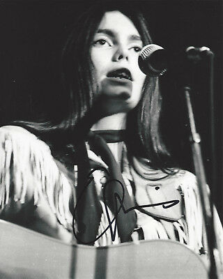 Dutiful Emmylou Harris Folk Singer Guitarist Signed 8x10 Photo C W/coa Country Proof Music Rock & Pop