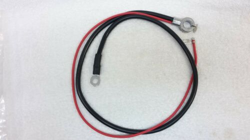 suit HQ HOLDEN 1 pair SPRING RING BATTERY CABLES standard 6 cyl Kingswood etc