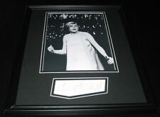 Lana Cantrell Signed Framed 11x14 Photo Display