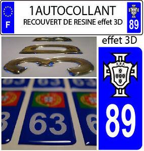 1-pegatina-matricula-de-coche-TUNING-3D-RESINA-FPS-PORTUGAL-DEPARTAMENTO-89