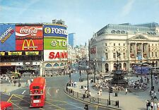 BR91758 coca cola mc donald s double decker bus london   uk