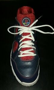 20da876126ac Nike Zoom Huarache TR Low 11.5 Retired Joe Mauer 466512-416 Show ...