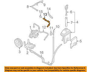 audi oem 98 01 a6 quattro power steering suction hose 8d0422887l ebay rh ebay com Audi Body Diagram Audi Body Diagram