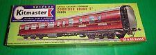 Rosebud Kitmaster Railway Kit CORRIDOR BRAKE 2nd TRAIN COACH GREEN #15