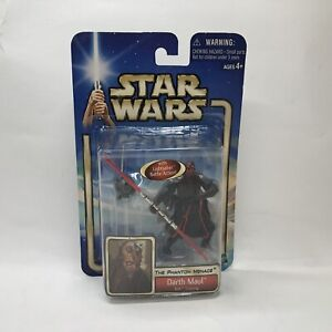New-Hasbro-Star-Wars-Phantom-Menace-3-75-034-Darth-Maul-Sith-Training-Action-Figure