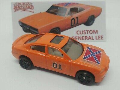 Red 5 Spks Hot Wheels Custom Dukes of Hazzard General Lee /'69 Dodge Charger