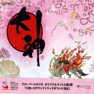 Okami-Orginal-Soundtrack-5CD-Spiel-Musik-aus-Japan