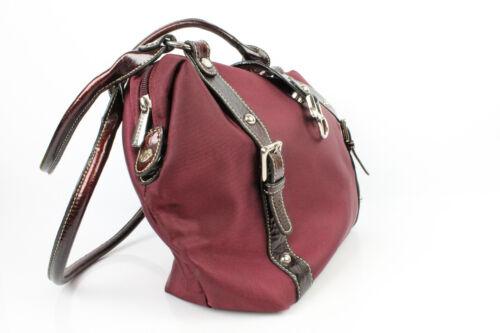 Tasche Nylon Sehr Bordeaux Zustand Tuch Umhänge Hexagona Getragen Guter rqw1fvr