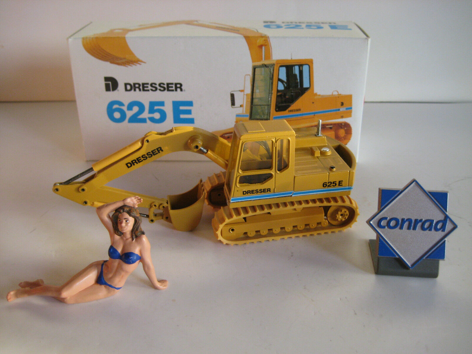 Sideboard 625 e excavator chains Caterpillar  2819.1 Conrad 1 50 EMB. orig