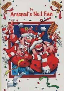 Arsenal Football Club. To Arsenal's No1 Fan. Birthday Card