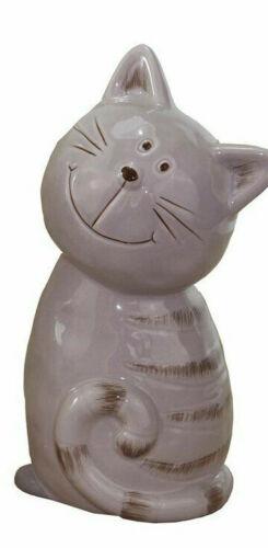 Deco Cat Ceramic Decoration Cats Sculpture Easter Decoration Spring
