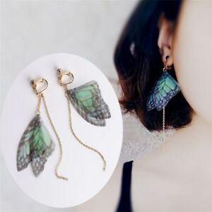 Wings-Dangle-Earring-Ear-Clip-For-Women-Girls-Jewelry-Asymmetrical-Earrings