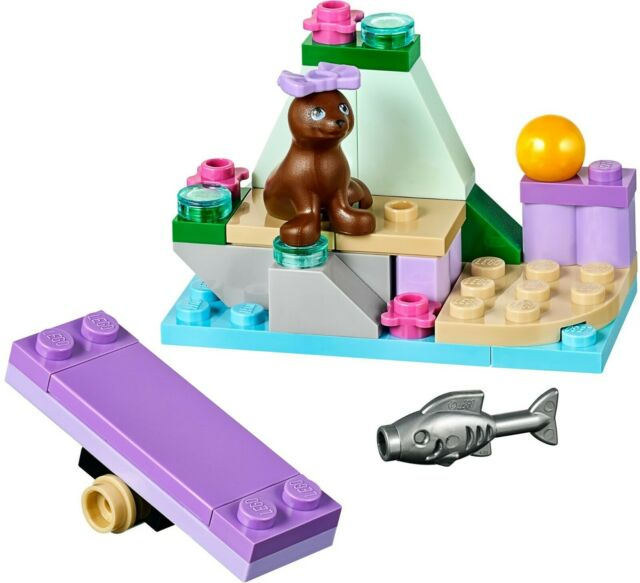 Lego FRIENDS 'Seal's Little Rock' 41047 with Instruction Manual 2014