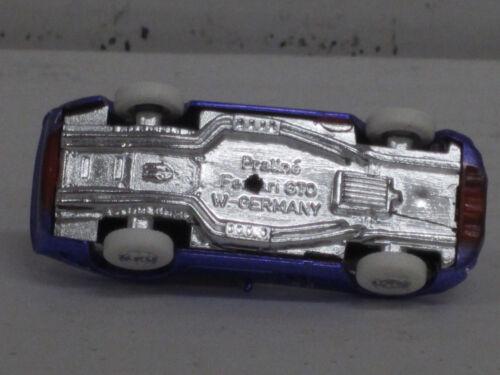 OVP o 1:87 Ferrari 250 GTO en lila metalizado con blancos neumáticos praliné Bijou
