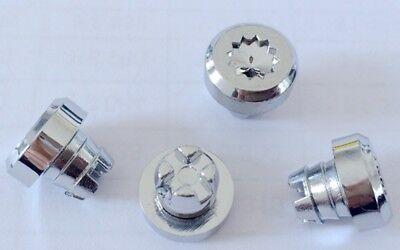 80 x Black Plastic Wheel Rivets Nuts Rim Lip Replacement Alloys Lug