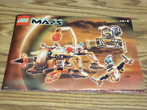 LEGO-Life-on-Mars-Set-7316-INSTRUCTION-MANUAL-ONLY-Excavation-Searcher-Martian