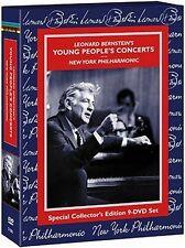 Leonard Bernstein . Young People's Concerts . New York Philharmonic . 9 DVD NEU