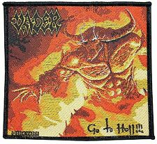 VADER - GO TO HELL PATCH - BRAND NEW - MUSIC BAND 2764