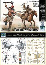 q Master Box MB35192 - Indian Wars Kit n. 2 - TOMAHAWK CHARGE (Scala 1/35)
