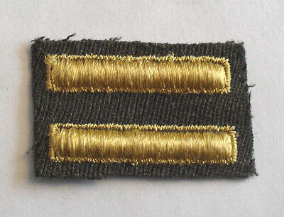 VIETNAM ERA US ARMY GREEN OVERSEAS SERVICE BAR TWO BARS FOR  1 YEAR SERVICE