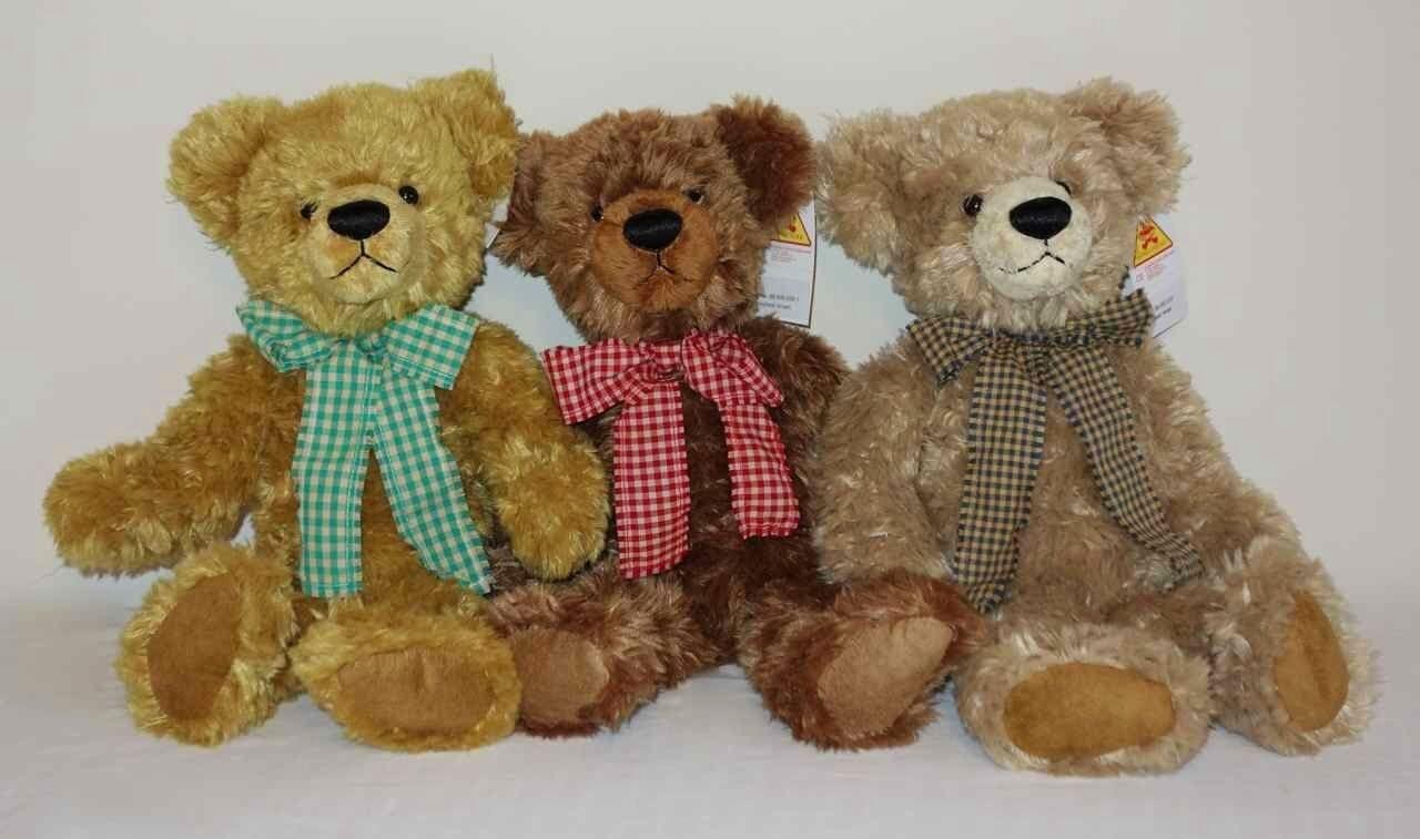CLEMENS Honeybear Teddy Bear 35cm Beige Plush soft toy New