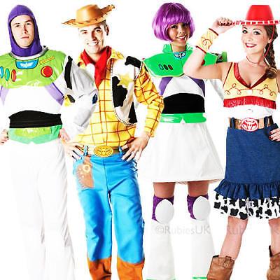 Amichevole Disney Toy Story Adulti Costume Buzz, Jessie, Woody Uomo Donna Costumi Nuovo-mostra Il Titolo Originale Numerosi In Varietà
