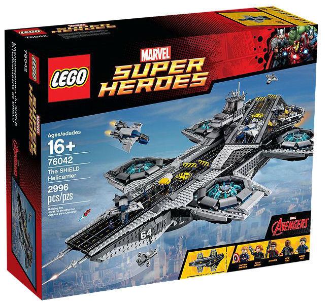 Lego 76042 Marvel Super Heroes-el escudo Helicarrier-Nuevo Sellado-retirado