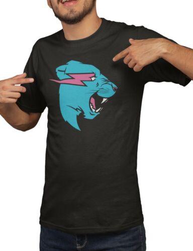 Mr Beast Lightning Cat Hoodie Or T-Shirt YouTuber Merch Adults /& Kids