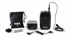 Rode RodeLINK FilmMaker Kit Lavalier Mic DSLR Camera-Mounted Receiver Wireless