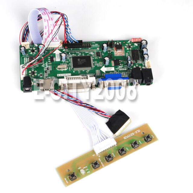 VGA M.NT68676 DVI TL A2 LCD Controller Board Driver kit for LP154WP1 HDMI