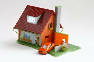 Faller-Familienhaus-Preiser-Figuren-Innenbeleuchtung-Rietze-AUDI-A4-N-1-160