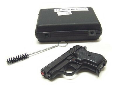 Pistola Bruni a salve 315 auto nera calibro 8 mm Top Firing scaccicani