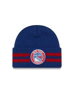 ed30029dc9f NHL New York Rangers NY Remix Stripe Sport Knit Hat Winter Beanie ...