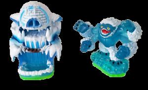 Skylanders Empire Of Ice / 82234888 and Slam Bam / 83995888 Lot of 2 (m1) VA