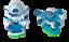miniature 1 - Skylanders Empire Of Ice / 82234888 and Slam Bam / 83995888 Lot of 2 (m1) VA