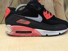 Nike Air Max 90 Mesh Black/Orange/Mesh Size 8.5