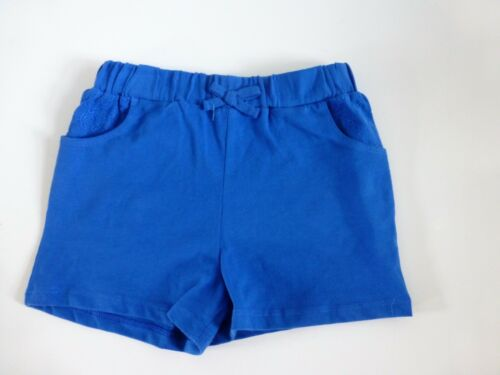 NEW Girl/'s 100/% Cotton Summer Shorts Blue Ages 3-4 yrs /& 4-5 yrs