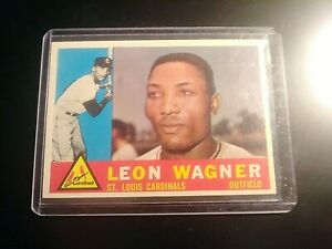 1960-Topps-Set-Break-383-Leon-Wagner-Cardinals-NmMt-SHARP