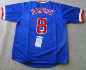 Andre-Dawson-Chicago-Cubs-Autographed-Jersey-JSA-Certificate-2